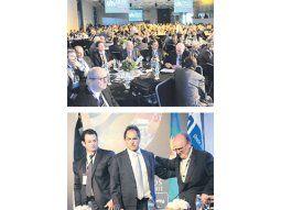 El gobernador Daniel Scioli y el titular de la UIA, José Ignacio de Mendiguren, tuvieron a su cargo la apertura de la conferencia anual, de la que participan empresarios argentinos y brasileños.