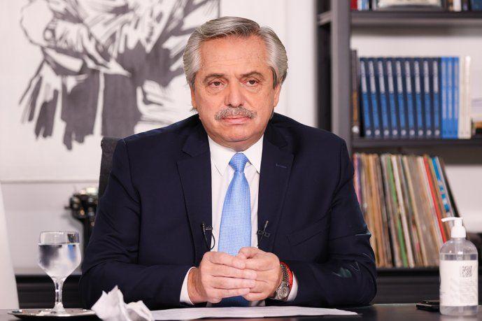 Alberto Fernández esta semana abocado a temas internacionales.