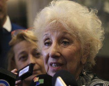 Estela de Carlotto recordó la triste frase del ex presidente: Macri nos lastimó