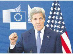 ROSTRO VISIBLE. John Kerry, representante de Estados Unidos sobre cambio climático, busca el aval de los principales líderes mundiales a la ofensiva que prepara el Gobierno de Joe Biden.
