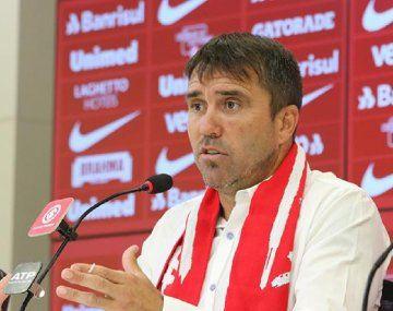 Coudet se fue de Inter de Porto Alegre antes de enfrentar a Boca en la Libertadores