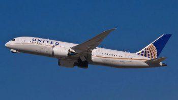 United, una de las grandes aerolíneas estadounidenses.