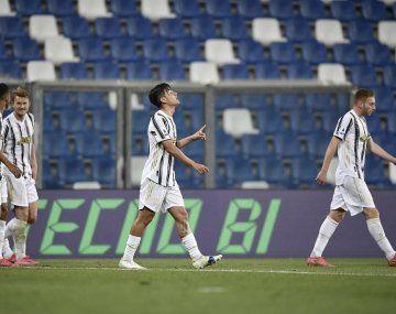 Dybala marcó su gon número 100 en la Juventus.
