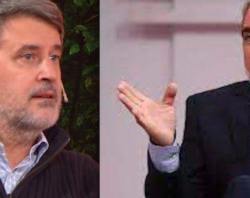Aníbal Fernández cruzó a Alfonso Prat Gay.
