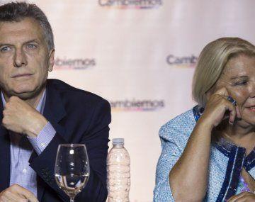 Carrió habla con todos los referentes de Juntos con el Cambio, salvo con Macri.