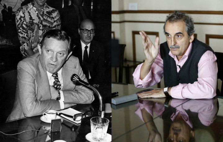 El ex ministro de EconomíaJosé BerGelbard y el ex Secretario de Comercio Interior Guillermo Moreno.