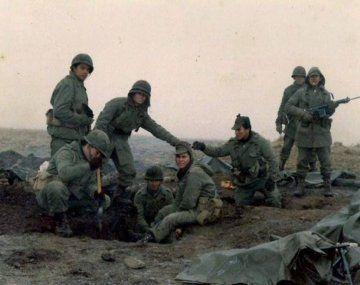 Movilizados: los soldados que defendieron el litoral marítimo argentino reclaman ser reconocidos como veteranos de guerra.