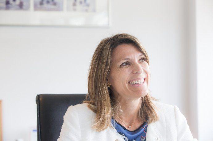 Isela Costantini, gerente general del Grupo GST y vicepresidenta de Quinquela Fondos.