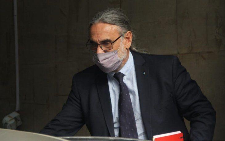 El ministro de Agricultura, Ganadería y Pesca de la Nación, Luis Basterra.