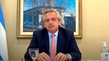 """El presidente Alberto Fernández lanzó en forma virtual desde la residencia de Olivos, la """"Convocatoria de proyectos para el Desarrollo Armónico con Equilibrio Territorial"""", una iniciativa impulsada por el Consejo Económico y Social (CES)."""