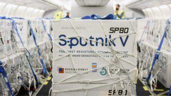 Llegán más vacunas de Sputnik V