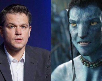 Matt Damon reveló la increíble cifra de dinero que perdió por rechazar protagonizar Avatar