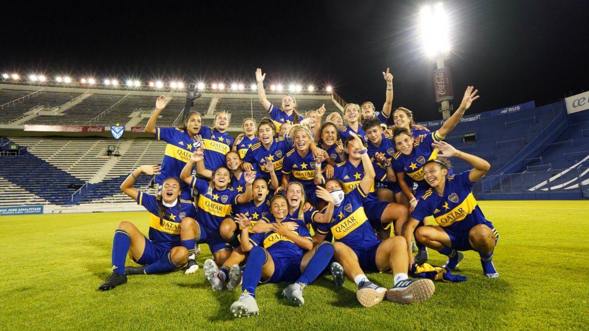 Boca goleó a River para ser campeón del primer torneo femenino profesional de AFA