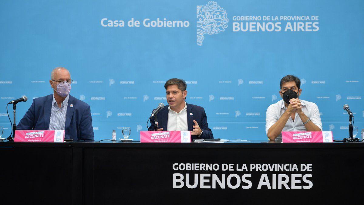 Se asignarán más de un millón de turnos de vacunación en la Provincia de Buenos Aires