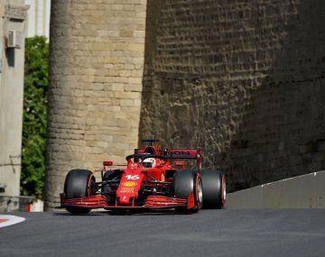 Leclerc consiguió su segunda pole consecutiva y quiere pelear en la Fórmula 1.