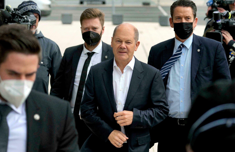 El actual ministro de Finanzas de Alemania y probable canciller, Olaf Scholz.