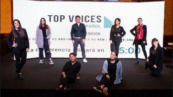 se realizo la segunda edicion de top voices en espanol