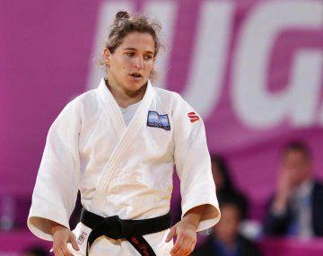 Paula Pareto no pudo subirse al podio en el Mundial de Tokio.