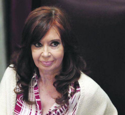 Cristina Fernández de Kirchner utilizó su cuenta de Twitter para respaldar a Axel Kicillof.