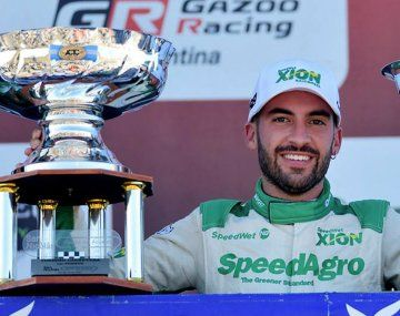 Julián Santero ganó la carrera de TC en San Nicolás.