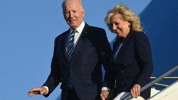 Joe Biden inició su primera gira internacional como presidente de Estados Unidos.