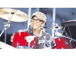 Manu Katche. El multipremiado percusionista marfileño se presentará el sábado en el teatro Coliseo.
