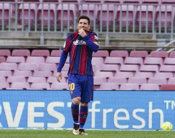 Lionel Messi quedó afuera del ranking.