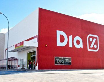 Supermercado DÏA en Argentina.