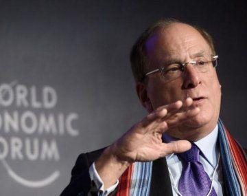 Larry Fink, CEO de Black Rock.