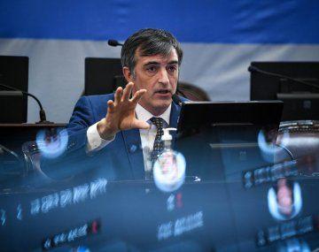 El senador Esteban Bullrich visitó Misiones en apoyo del precandidato a diputado nacional, Martín Goerling.