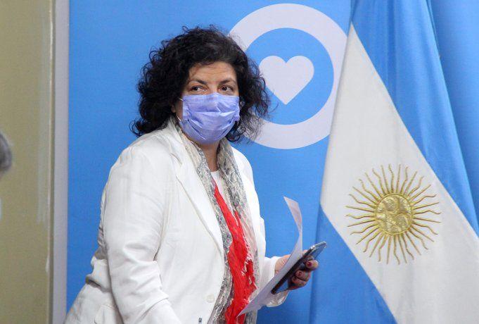 Vizzotti participará en Roma de la reunión de ministros de Salud del G20