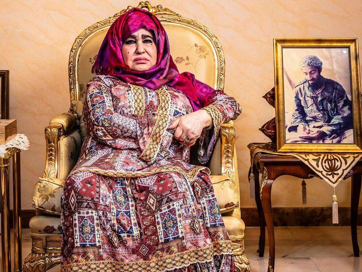 Alia Ghanem, la madre de Bin Laden.