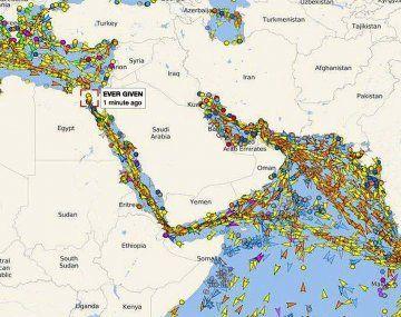 El bloqueo causa grandes retrasos en las entregas de petróleo y otros productos comerciales.
