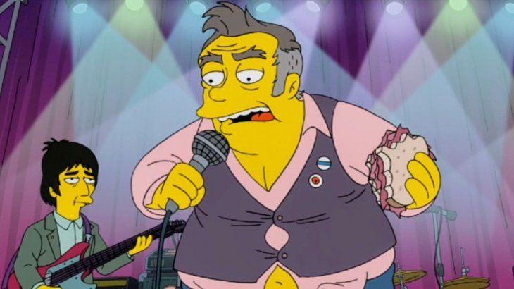 El manager de Morrissey se enojó con Los Simpson por un personaje basado en el cantante.