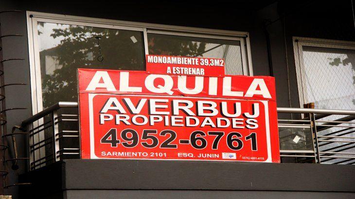 Los alquileres en la Ciudad de Buenos Aires se incrementaron en promedio un 50%.