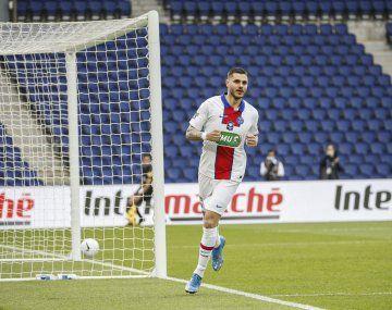 Mauro Icardi convirtió tres goles en PSG.