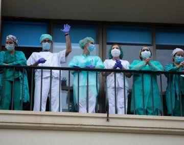 La labor de todos los profesionales de la salud se transformó en el pilar fundamental en la lucha contra la pandemia.
