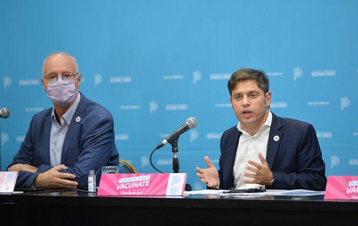 Axel Kicillof avaló las nuevas restricciones de Alberto Fernández.