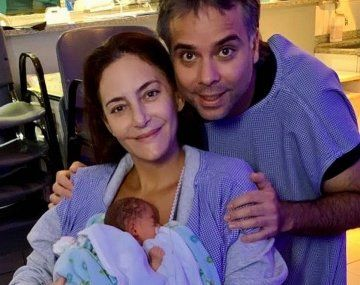 Luciana Aymar fue mamá por segunda vez: nació Lupe