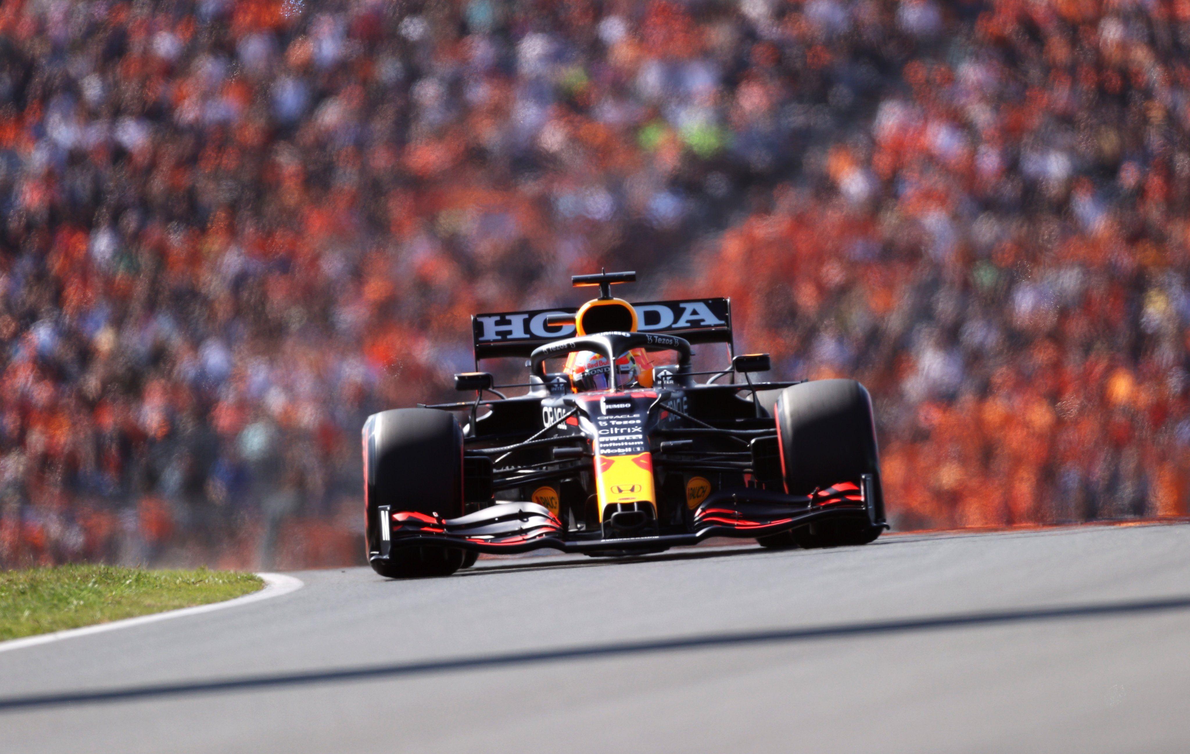 Verstappen largará en la pole position del GP de Estados Unidos.