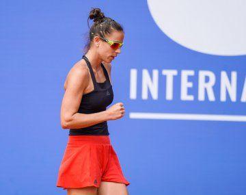 Ormaechea volvió a ganar en el circuito WTA luego de cuatro años.