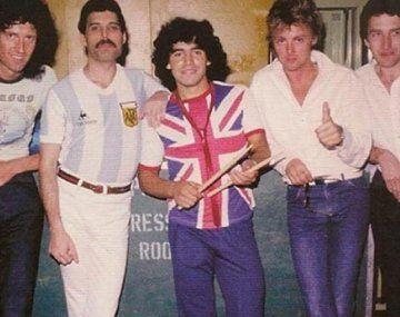 La verdadera historia detrás del memorable encuentro entre Maradona y Queen