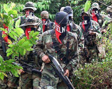 La última guerrilla activa en Colombia, el ELN, amenazó con atacar a la población que no se pliegue a su paro entre el viernes y el lunes.