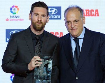 Javier Tebas dio vuelta la página sobre la salida de Lionel Messi de LaLiga de España.