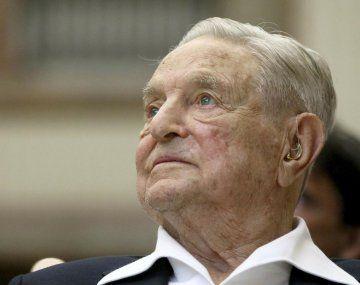 György Schwartz (George Soros) posee un patrimonio neto de más de u$s8.300 millones.