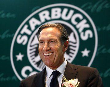 Howard Schultz, expresidente y aún accionista de Starbucks.