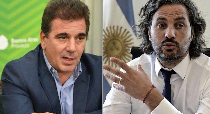 Cristian Ritondo y Santiago Cafiero.