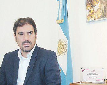 El titular de la AGIP, Andrés Ballotta.