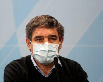 El ministro de salud de la Ciudad de Buenos Aires, Fernán Quirós.