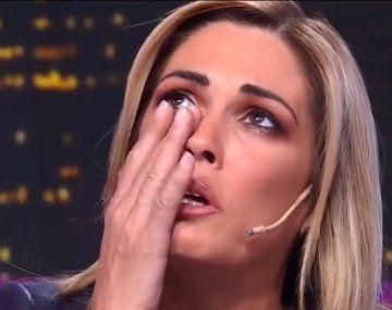 Viviana Canosa y sus lágrimas en vivo